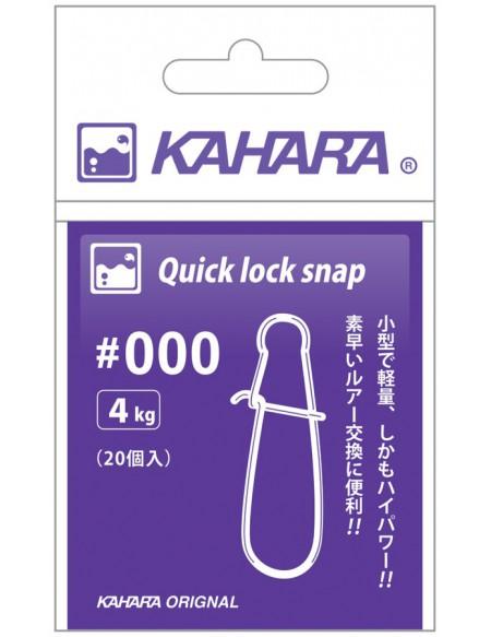 Agrafe Kahara Quick Lock Snap