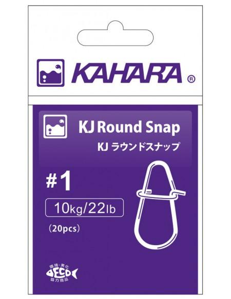 Agrafe Kahara Round Snap