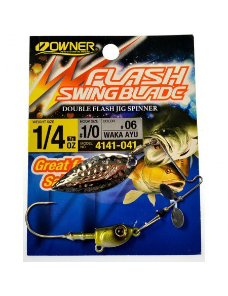 Spinnerbait Owner FLASH SWING BLADE