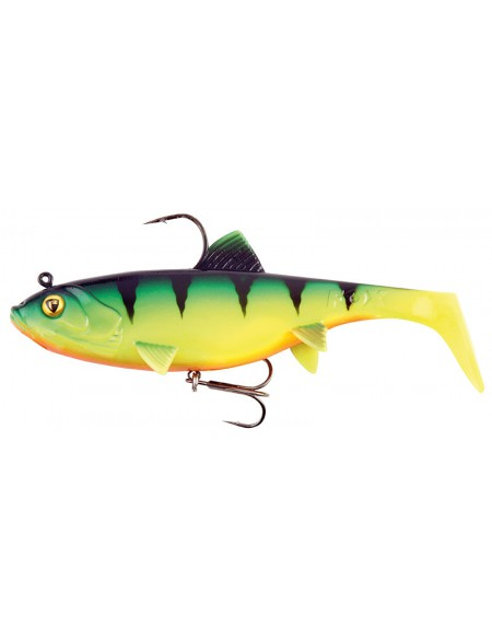 Leurre souple armé FOX Rage WOBBLE REPLICANT 14cm