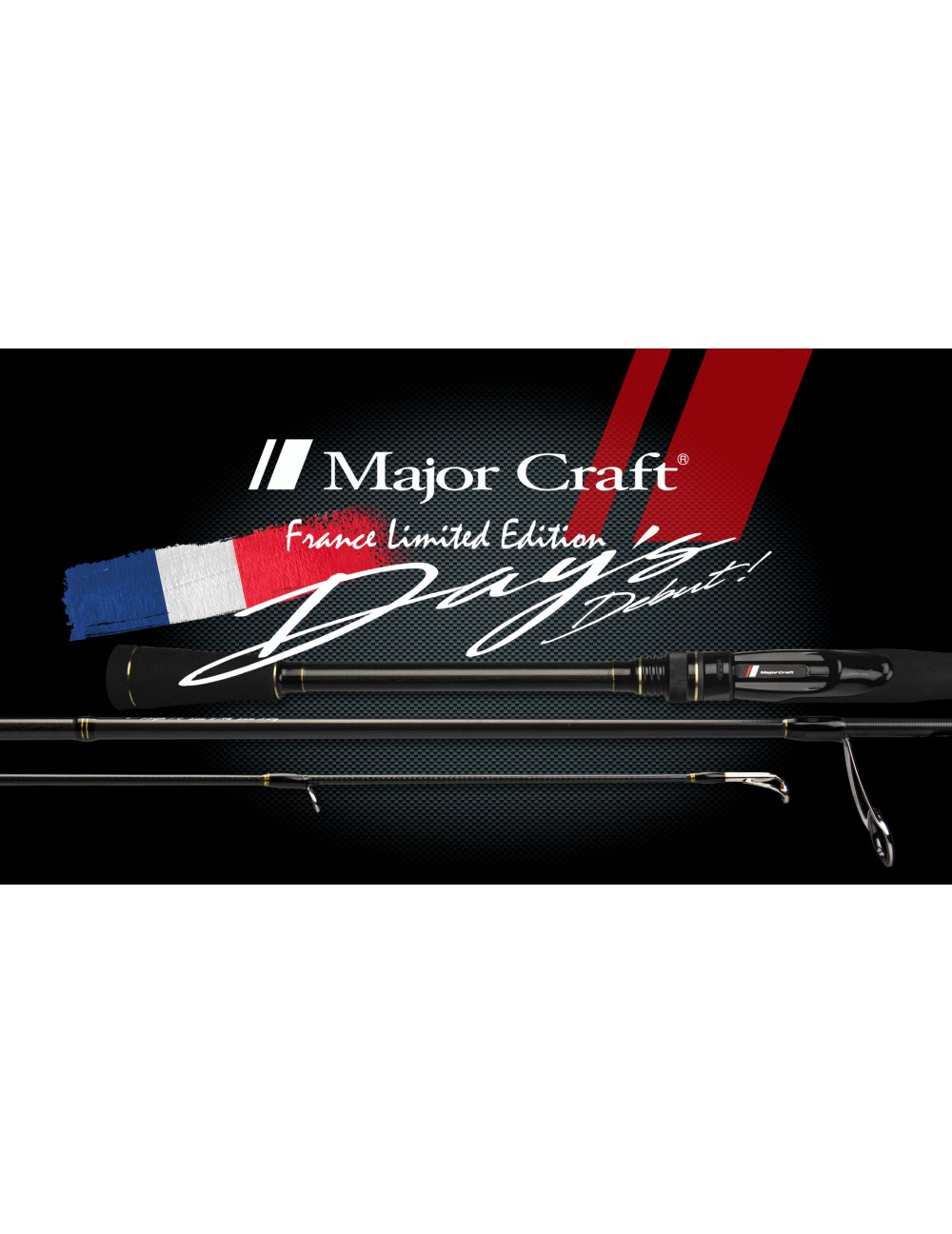 CANNE SPINNING MAJOR CRAFT DAY'S 76 H / FLE