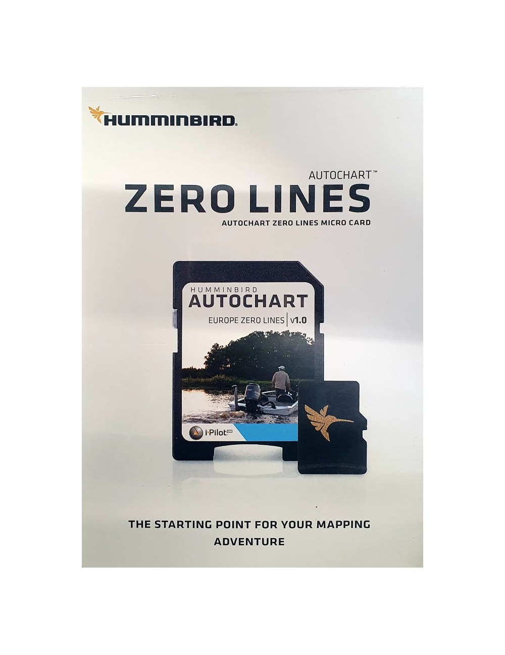 CARTE HUMMINBIRD AUTOCHART ZERO LINES