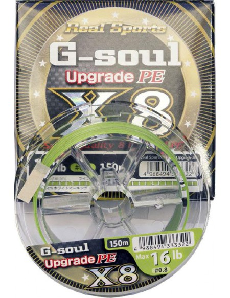 Tresse YGK G-Soul Upgrade PE X8